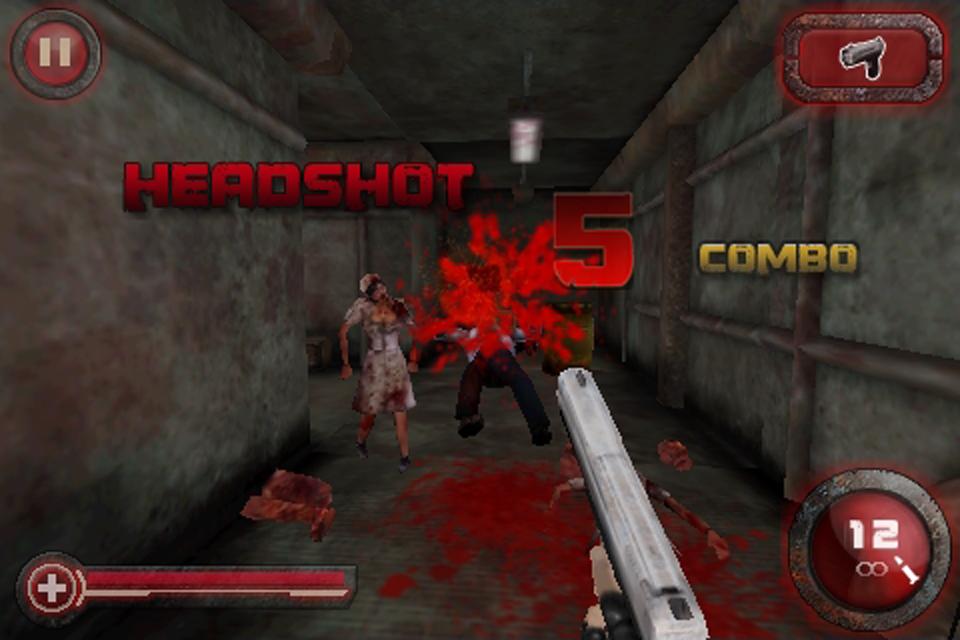 Screenshot Zombie Crisis 3D Free