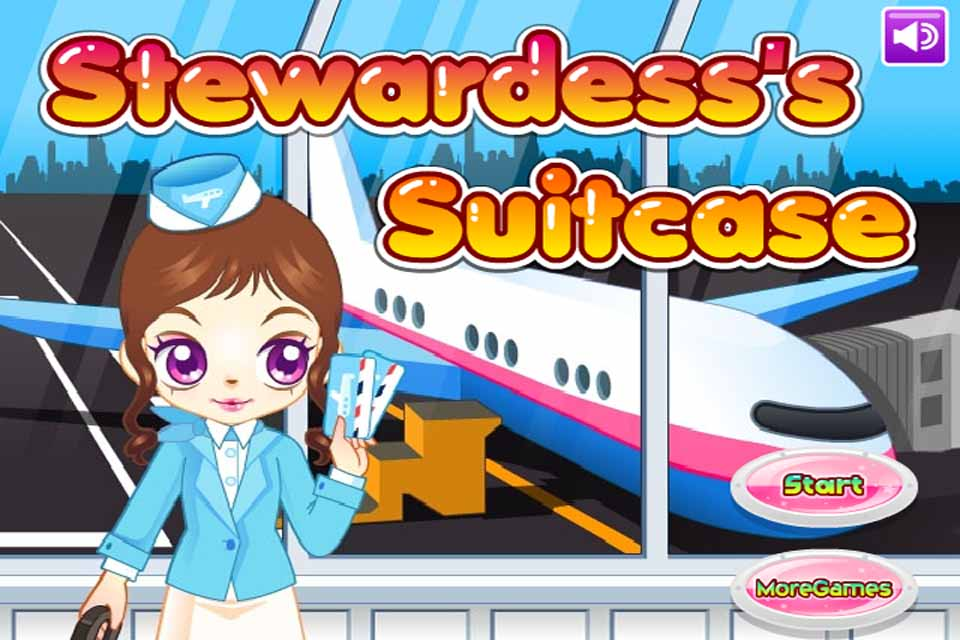 Screenshot Stewardess's Suitcase